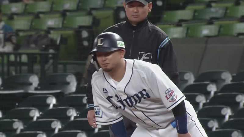 1回裏】ライオンズ・森 先制のタイムリーヒット!! 2021/4/14 L-F