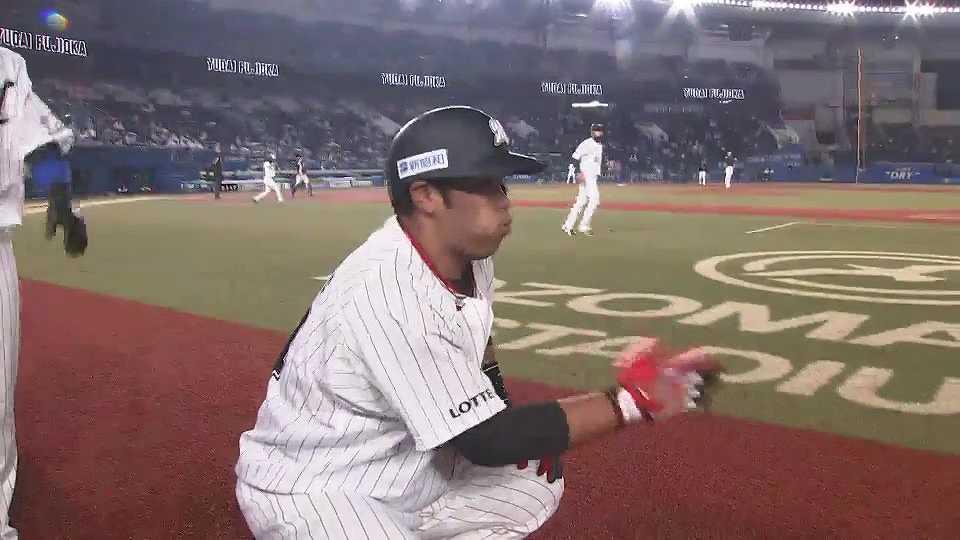 【4回裏】今シーズン初ごっちゃし!! マリーンズ・井上の3ランホームラン!! 2021/5/7 M-B