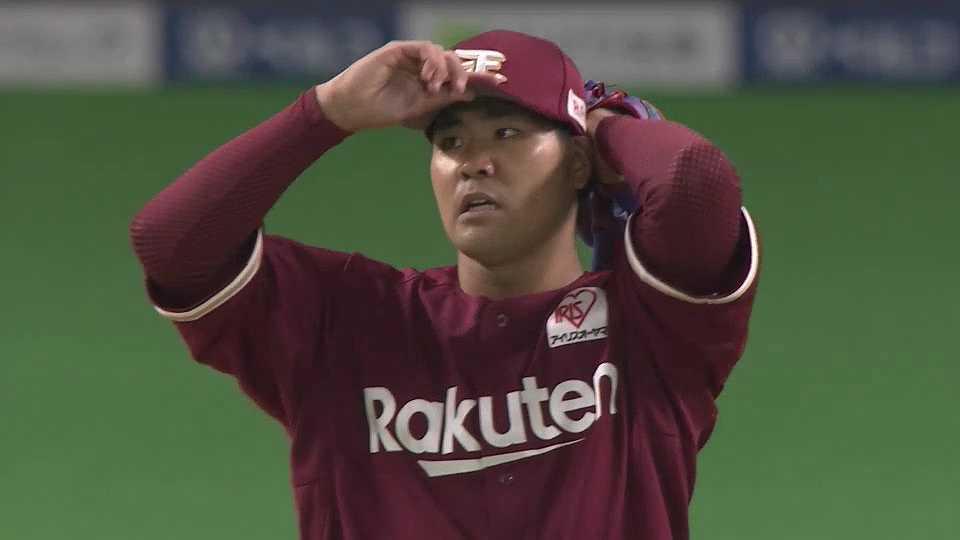 【8回裏】イーグルス・内間 プロ初登板でいきなりプロ初三振を奪う!! 2021/5/7 F-E