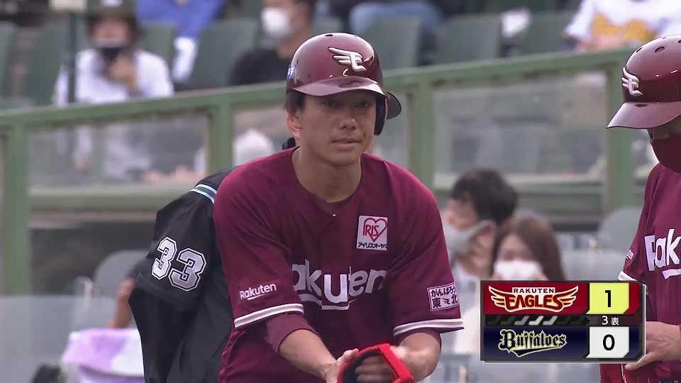 【3回表】イーグルス・田中和が先制点!! 強めの打球でタイムリーヒット!! 2021/5/15 B-E