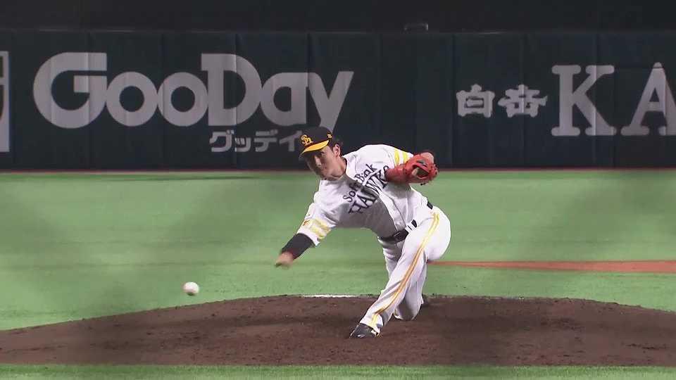 【5回表】ホークス・高橋礼 1イニングをわずか9球に抑える!! 2021/7/30 H-S(エキシビションマッチ)