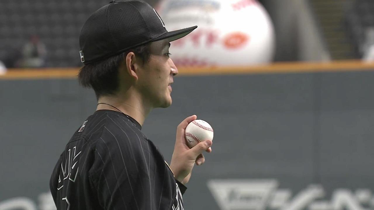 マリーンズ・小島和哉投手ヒーローインタビュー 2021年9月19日 北海道日本ハムファイターズ 対 千葉ロッテマリーンズ