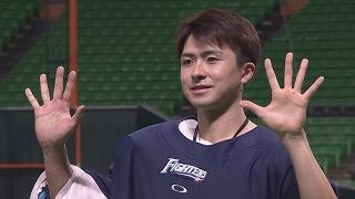 ファイターズ・上沢直之投手ヒーローインタビュー 9月24日 福岡ソフトバンクホークス 対 北海道日本ハムファイターズ