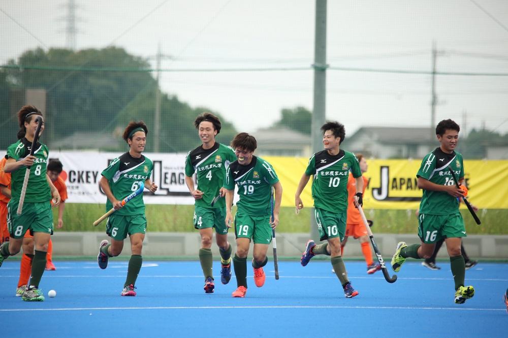 HJL2021【H2】55分に決勝点、GKの前でコースを変えた/MF 10 髙橋秀仁(東京農業大学