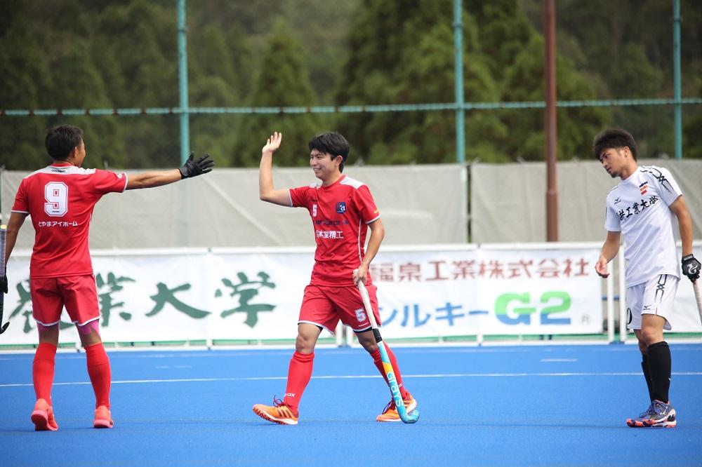 HJL2021【H2】このゴールが決勝点となり、小矢部Rが首位に浮上/FW5 沼田涼平(小矢部RED OX)