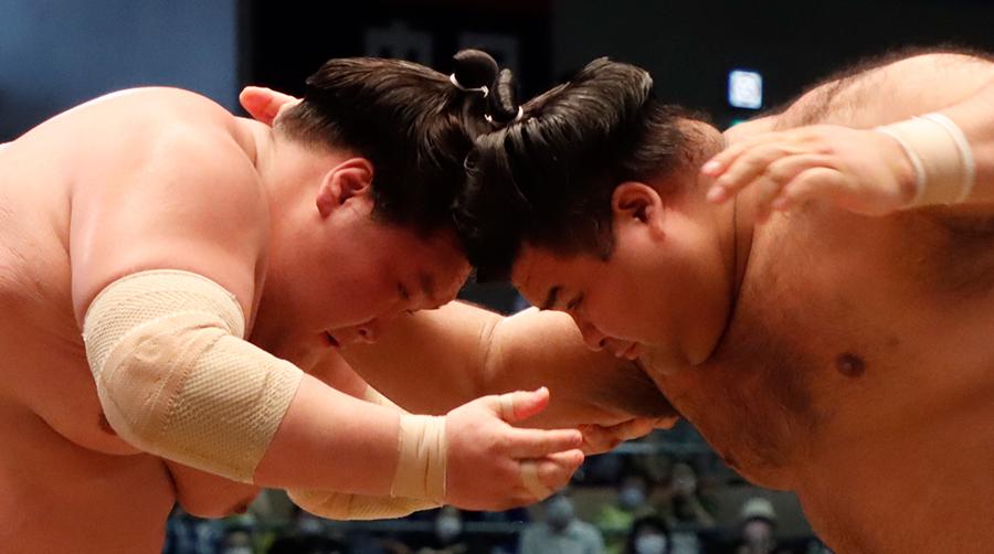 【相撲協会公式・今日の一番】十四日目 大関・照ノ富士-関脇・高安