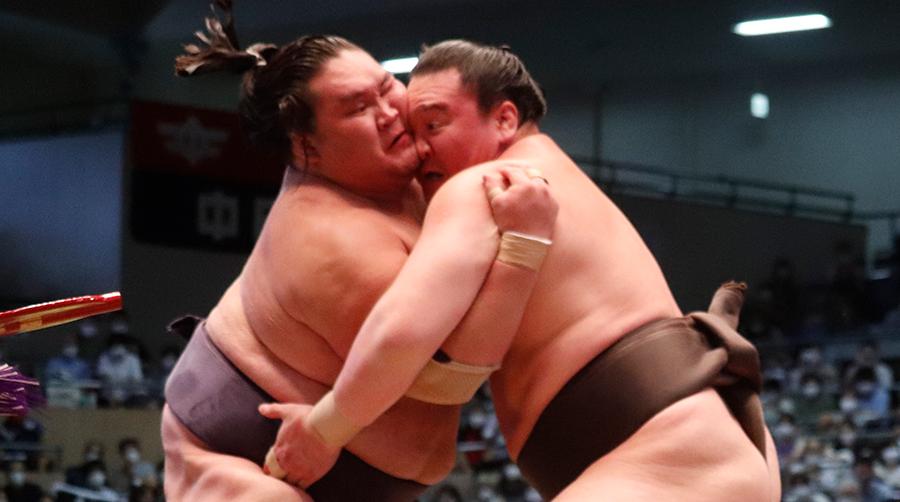 【相撲協会公式・今日の一番】千秋楽 横綱・白鵬-大関・照ノ富士