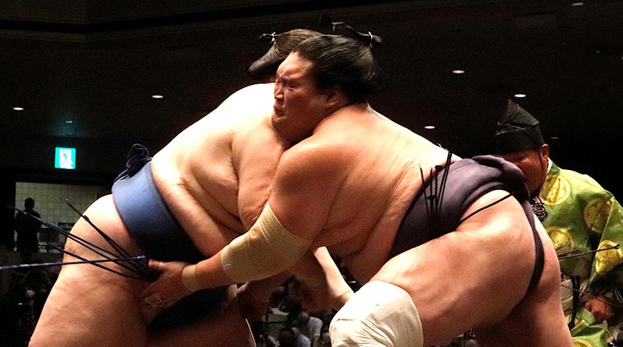 【相撲協会公式・今日の一番】初日 小結・逸ノ城-横綱・照ノ富士