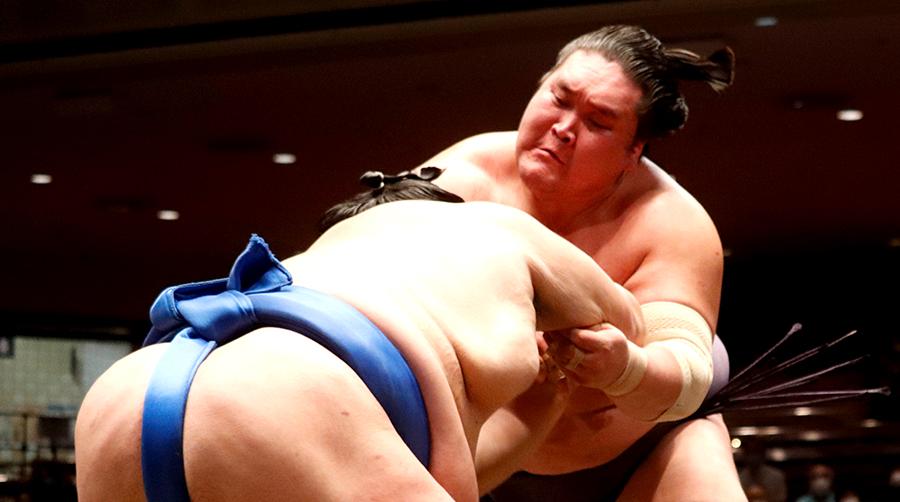 【相撲協会公式・今日の一番】四日目 北勝富士-横綱・照ノ富士