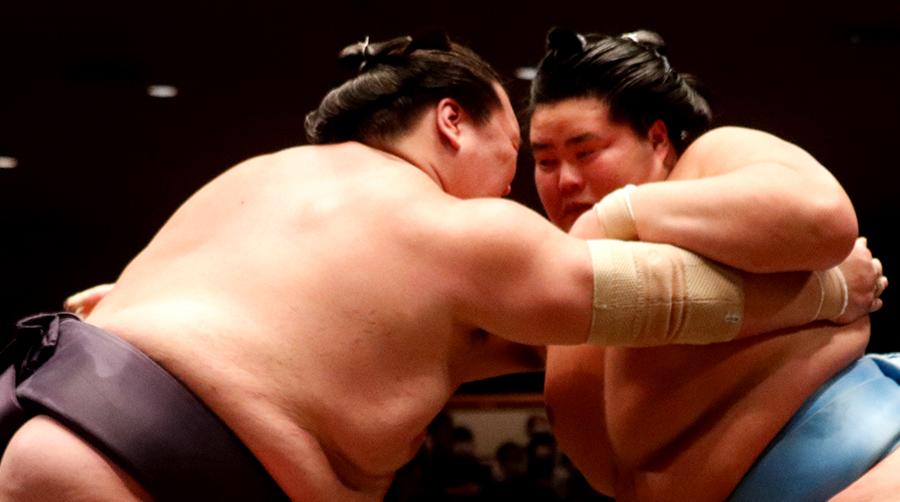 【相撲協会公式・今日の一番】七日目 琴ノ若-横綱・照ノ富士