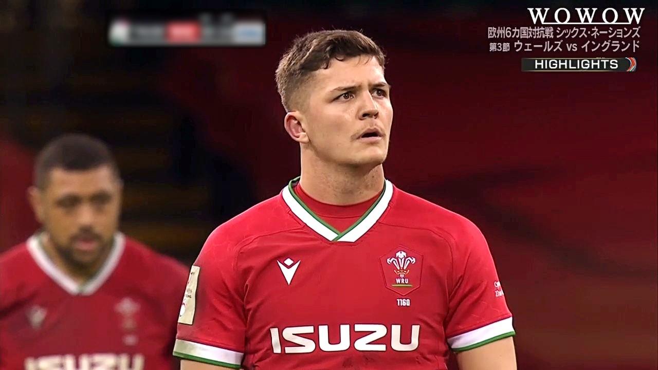 【第3節ハイライト】ウェールズ vs イングランド/ラグビー欧州6カ国対抗戦 シックス・ネーションズ2021