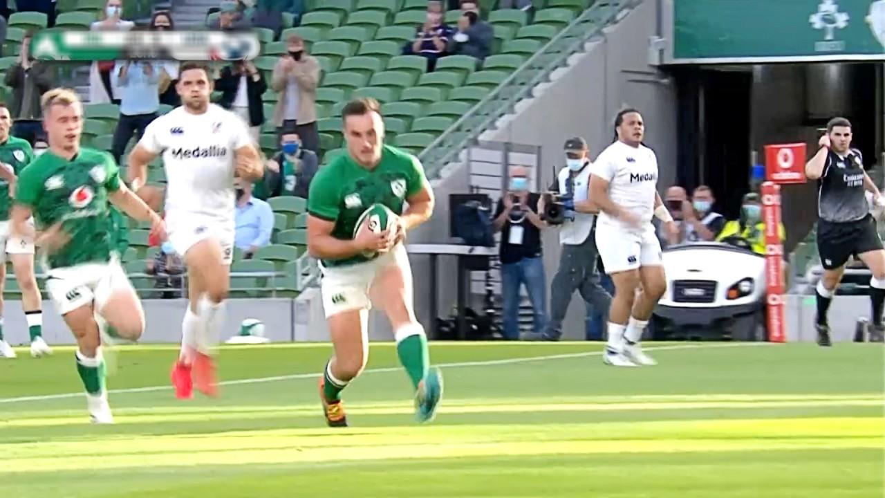 【ラグビーハイライト】アイルランド vs アメリカ/ラグビー テストマッチ 2021