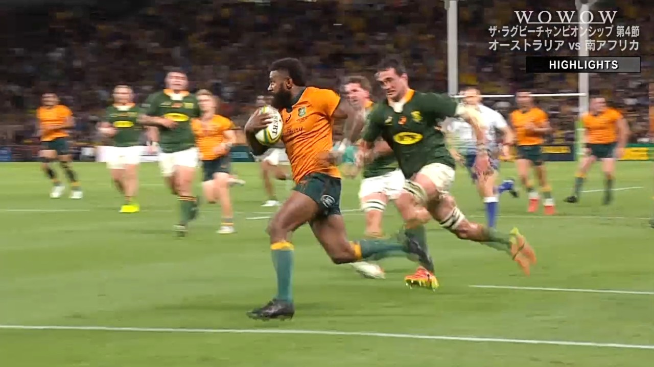 【ラグビーハイライト】オーストラリア vs 南アフリカ 第4節/ザ・ラグビーチャンピオンシップ2021