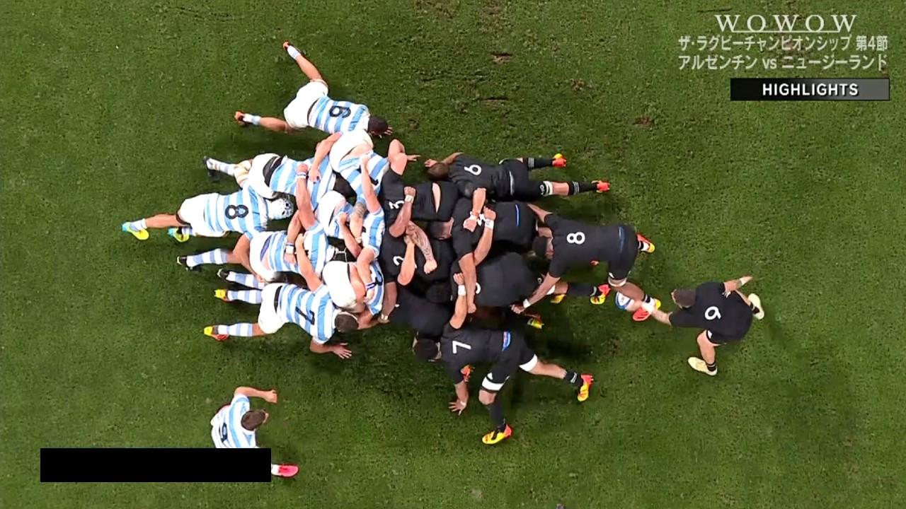 【ラグビーハイライト】アルゼンチン vs ニュージーランド 第4節/ザ・ラグビーチャンピオンシップ2021