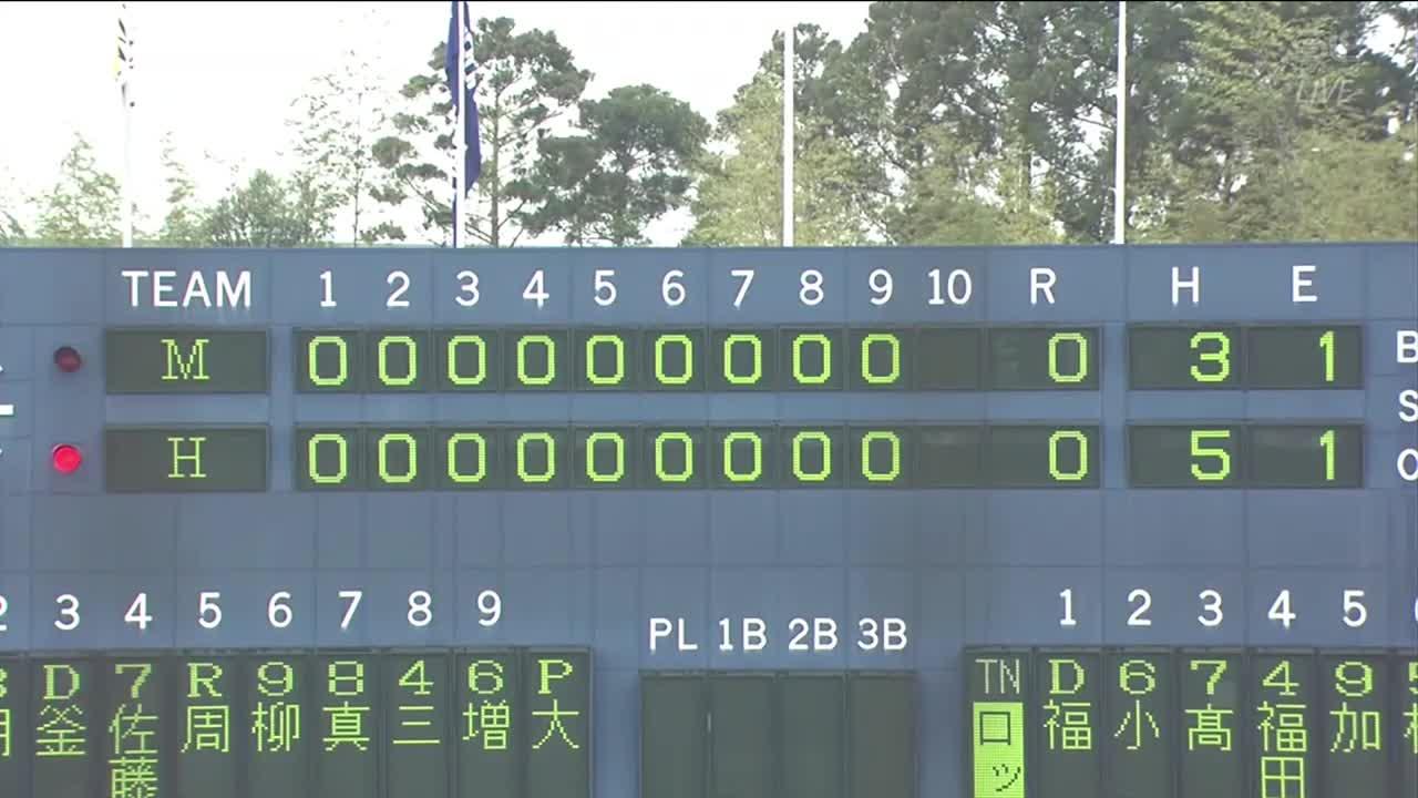 【球春みやざきベースボールゲームズ/ロッテ戦】試合ハイライト