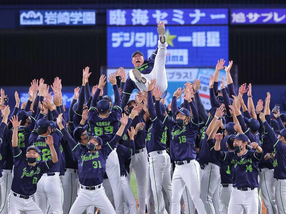 6年ぶり8度目のリーグ優勝を決めた東京ヤクルトスワローズ!広報カメラが胴上げに潜入!