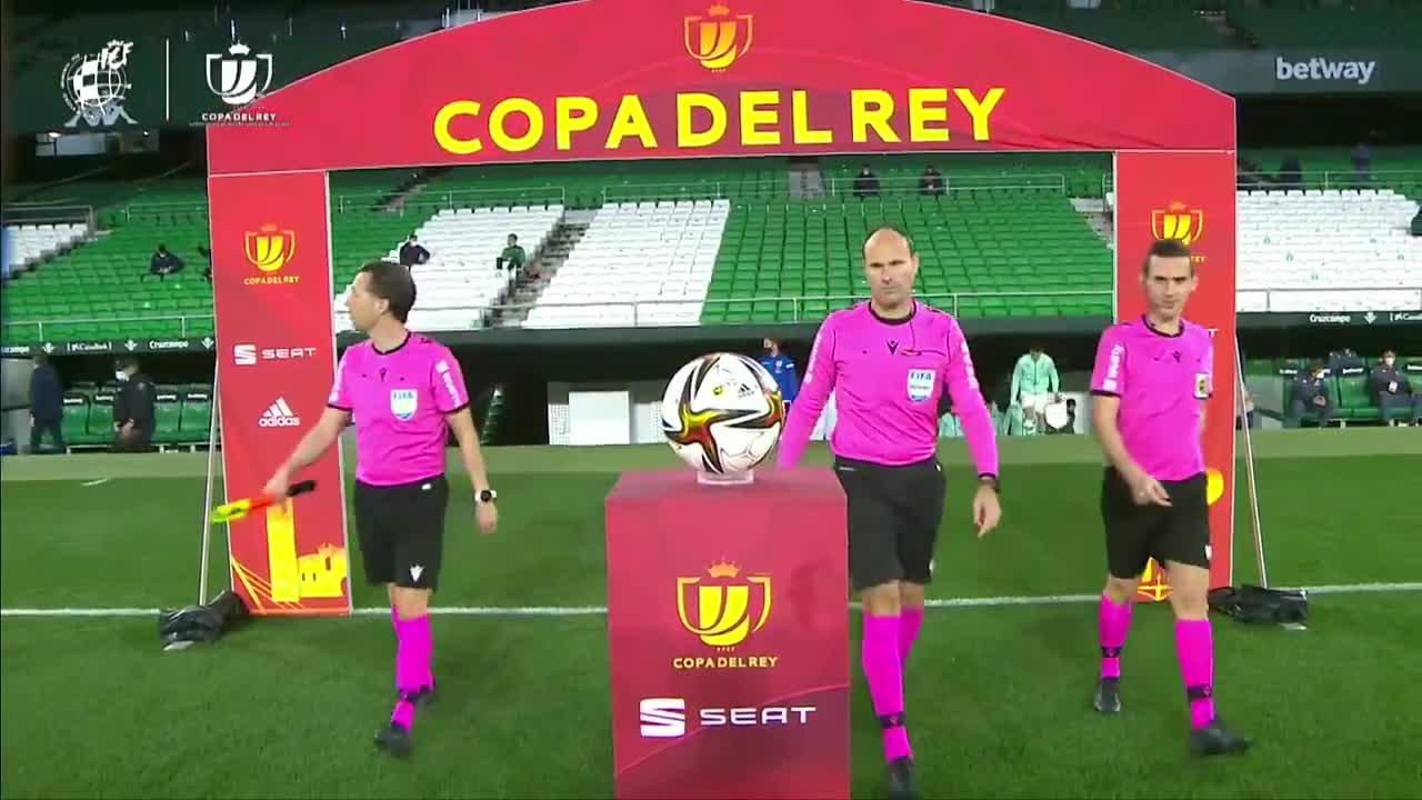 【スペイン国王杯ベスト16】レアル・ベティスvsレアル・ソシエダ ハイライト