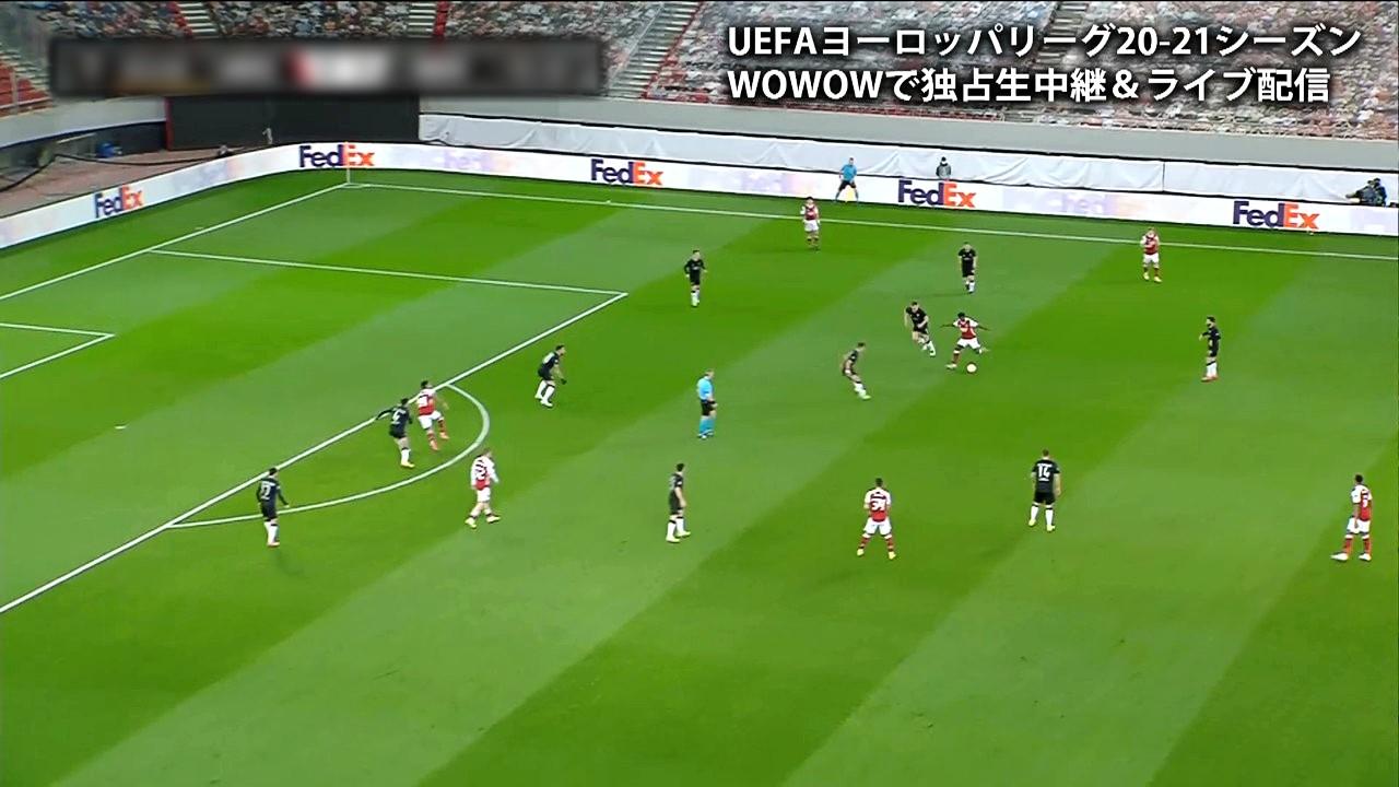 【ベスト32 2nd Leg】アーセナル vs ベンフィカ 1分ハイライト/UEFAヨーロッパリーグ 20-21