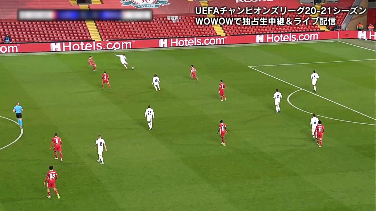 【準々決勝 2nd Leg】リヴァプール vs レアル・マドリード 1分ハイライト/UEFAチャンピオンズリーグ 20-21