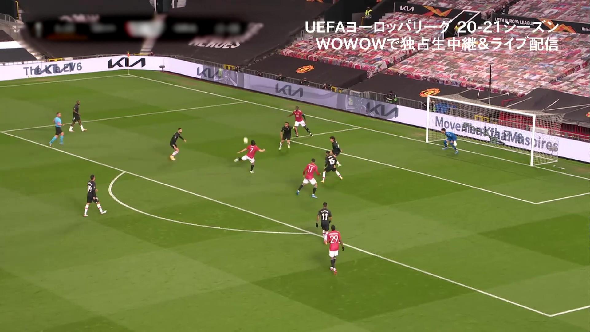 【準々決勝 2nd Leg】マンチェスター・ユナイテッド vs グラナダ 1分ハイライト/UEFAヨーロッパリーグ 20-21