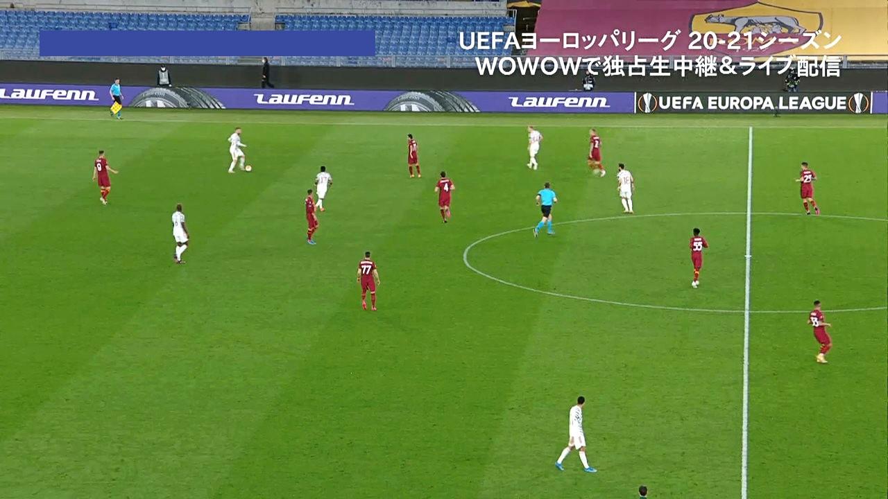 【準決勝 2nd Leg】ローマ vs マンチェスター・ユナイテッド 1分ハイライト/UEFAヨーロッパリーグ 20-21