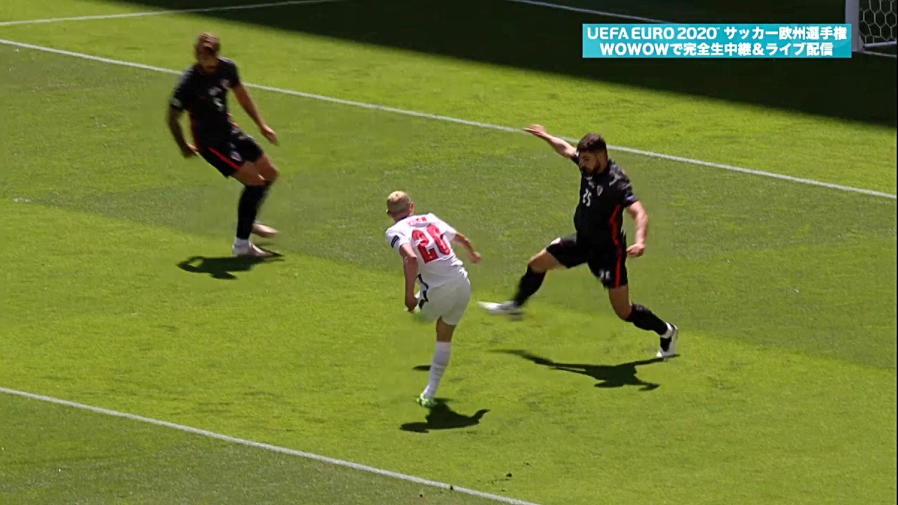グループステージHL│グループD│イングランド vs クロアチア Matchday 1│UEFA EURO 2020TM サッカー欧州選手権
