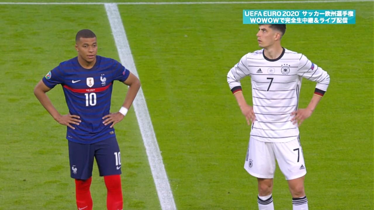 グループステージHL│グループF│フランス vs ドイツ Matchday 1│UEFA EURO 2020TM サッカー欧州選手権
