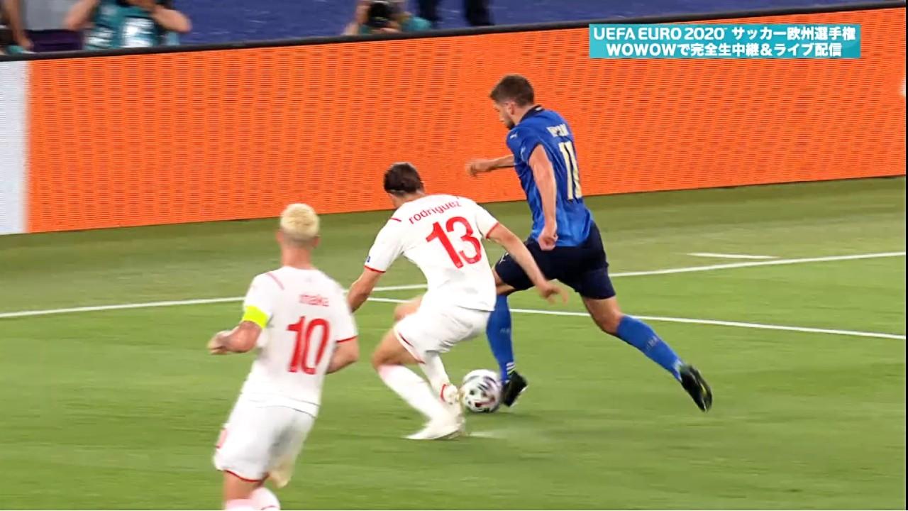 グループステージHL│グループA│イタリア vs スイス Matchday 2│UEFA EURO 2020TM サッカー欧州選手権