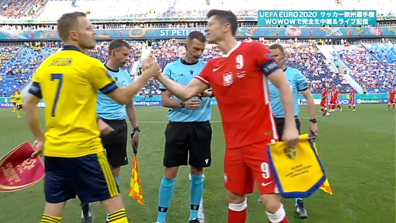 グループステージHL│グループE│スウェーデン vs ポーランド Matchday 3│UEFA EURO 2020TM サッカー欧州選手権