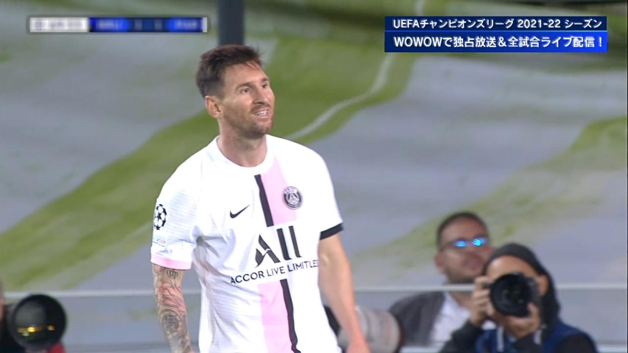 【GS Matchday1】クラブ・ブリュージュ vs パリ・サンジェルマン 1分ハイライト/UEFAチャンピオンズリーグ 2021-22