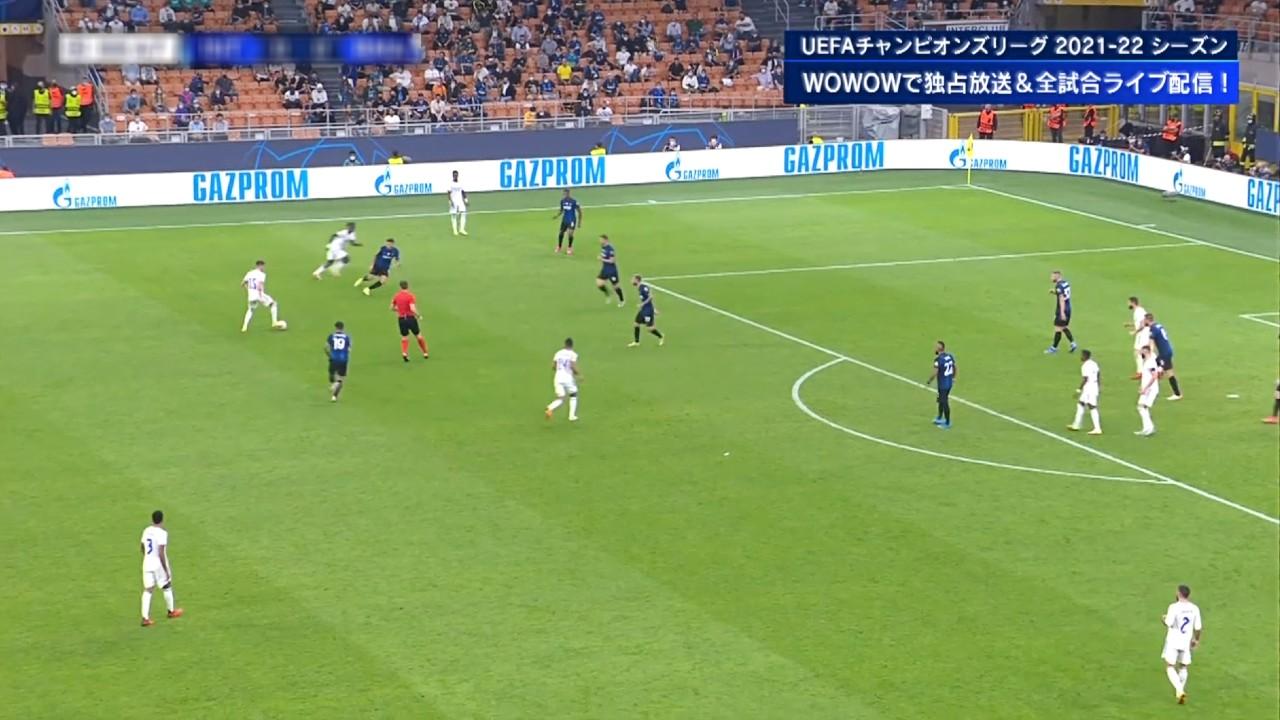 【GS Matchday1】インテル vs レアル・マドリード 1分ハイライト/UEFAチャンピオンズリーグ 2021-22