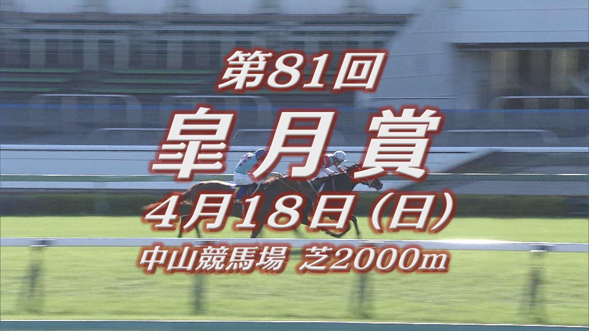 【GⅠレース出走予定馬紹介】皐月賞 4/18(日) 中山競馬場