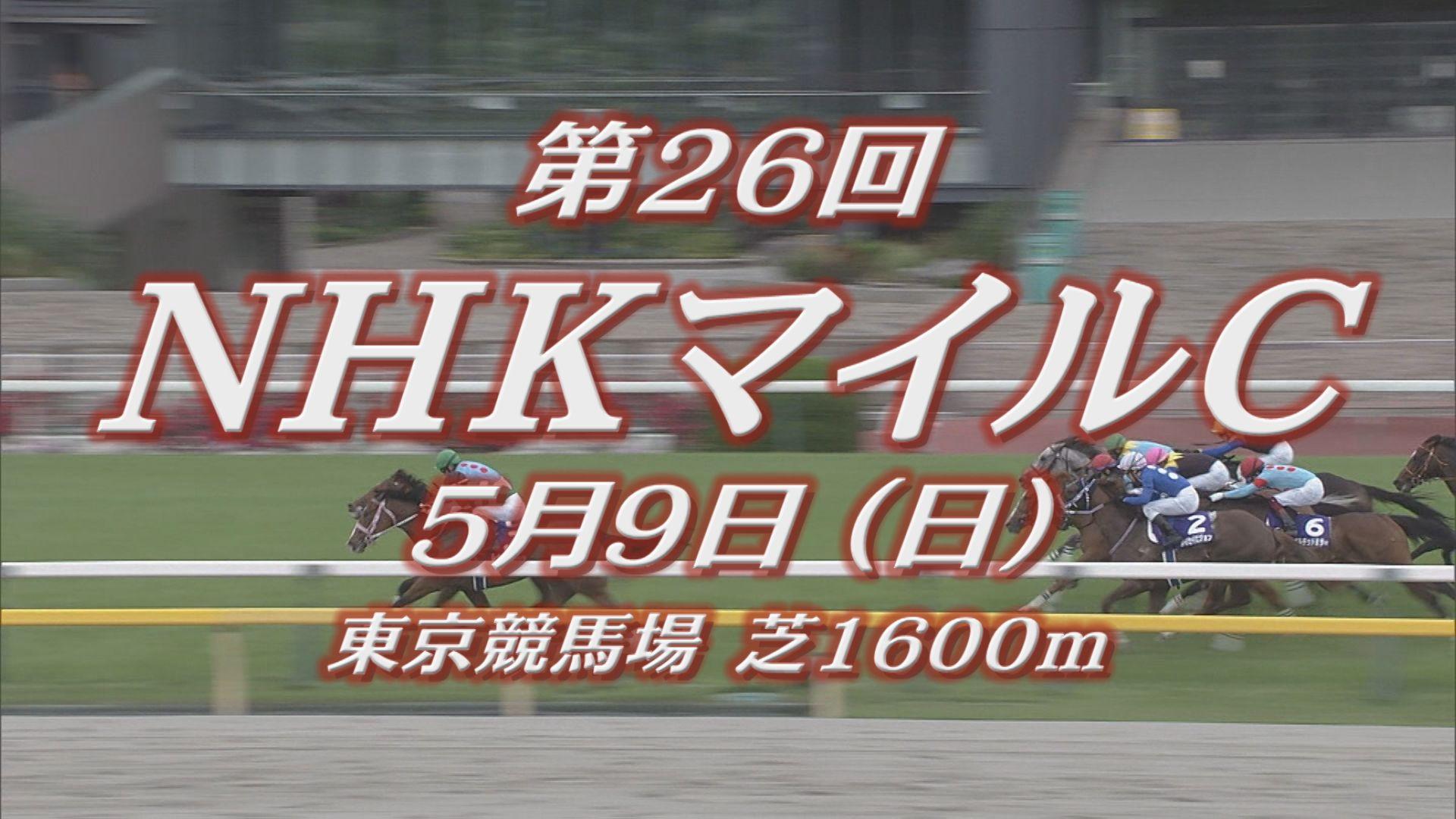 【GIレース出走予定馬紹介】NHKマイルカップ 5/9 東京競馬場