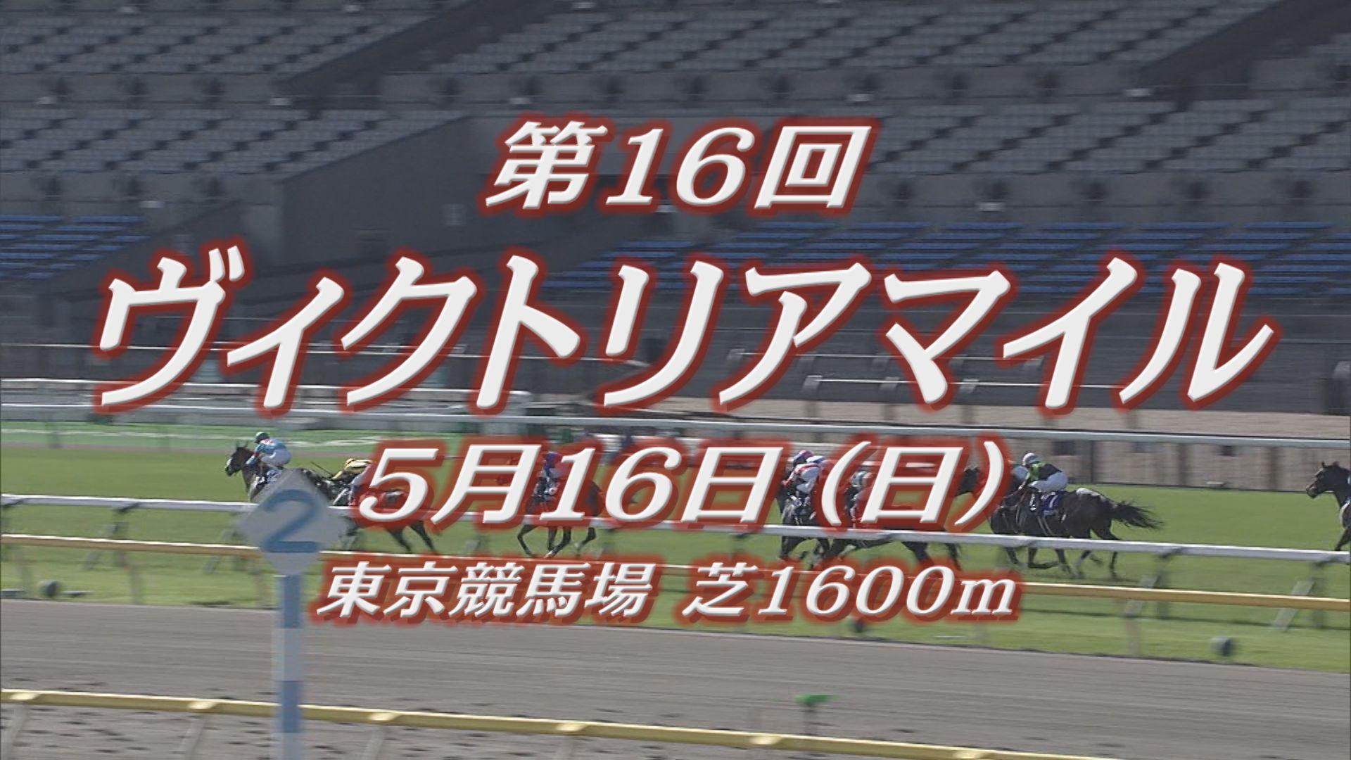 【GⅠレース出走予定馬紹介】ヴィクトリアマイル 5/16 (日) 東京競馬場
