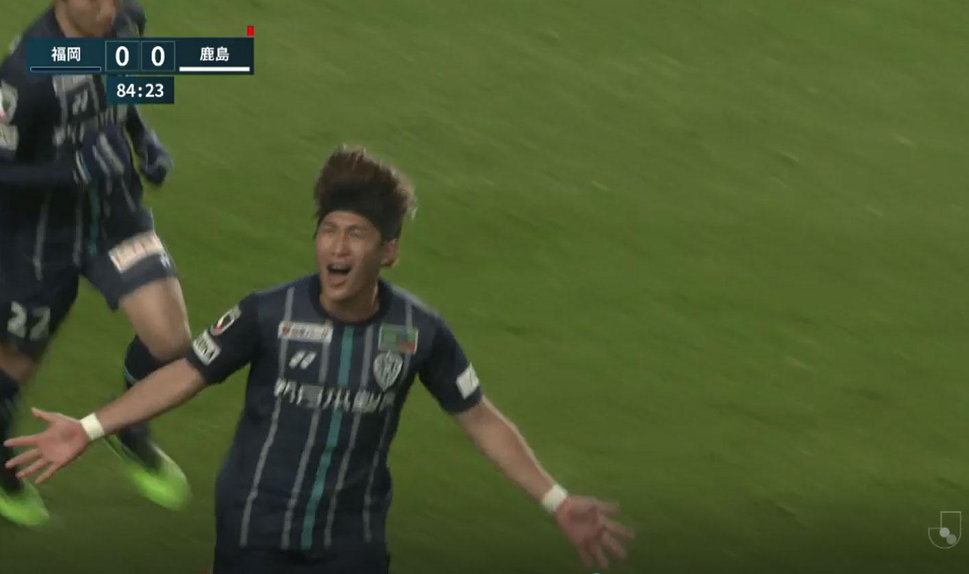 明治安田生命J1リーグ【第5節】福岡vs鹿島 ダイジェスト