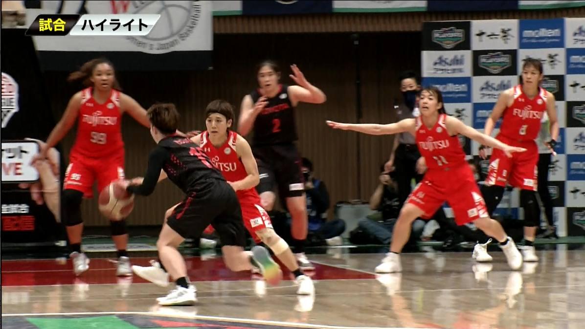 【女子バスケ Wリーグ】3/15 トヨタ自動車 vs 富士通(第22回Wリーグプレーオフ SF Game2)