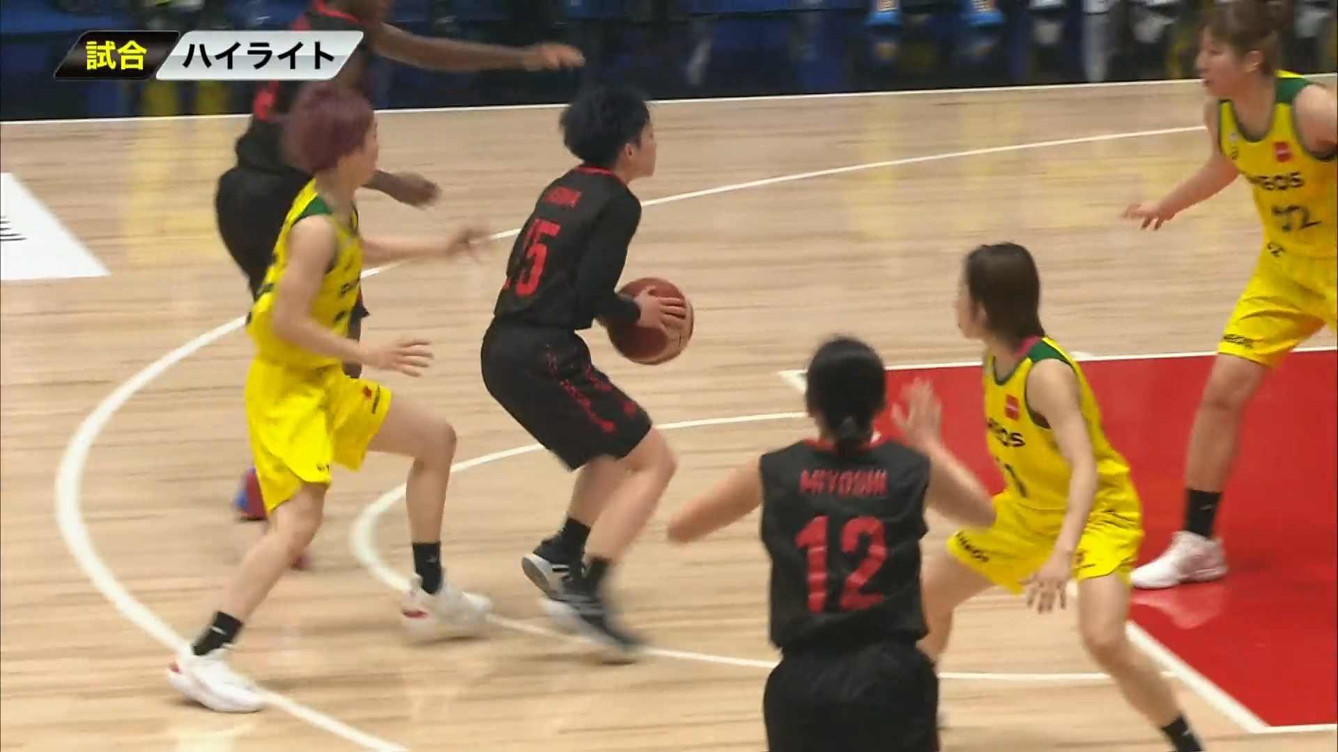 【女子バスケ Wリーグ】3/21 ENEOS vs トヨタ自動車(第22回Wリーグプレーオフ Final Game2)