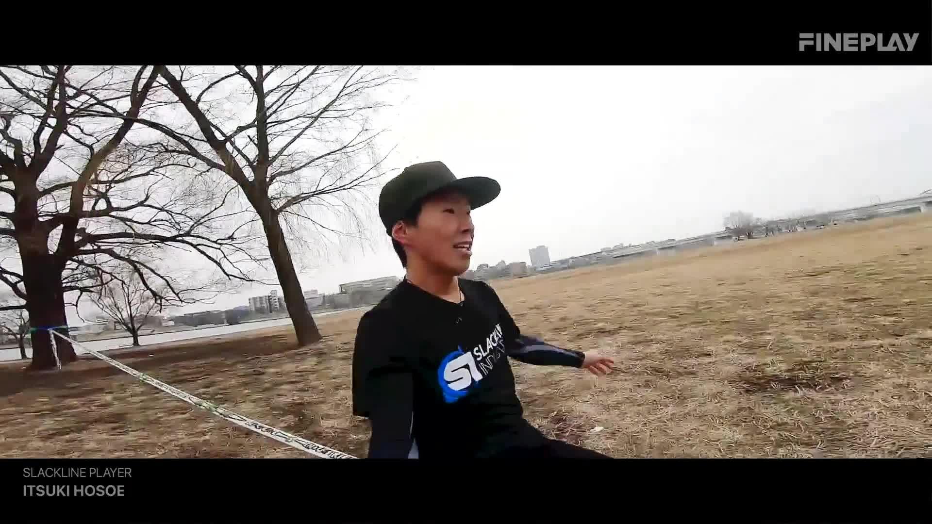 【迫力映像】世界が注目するスラックラインライダー細江 樹が魅せる