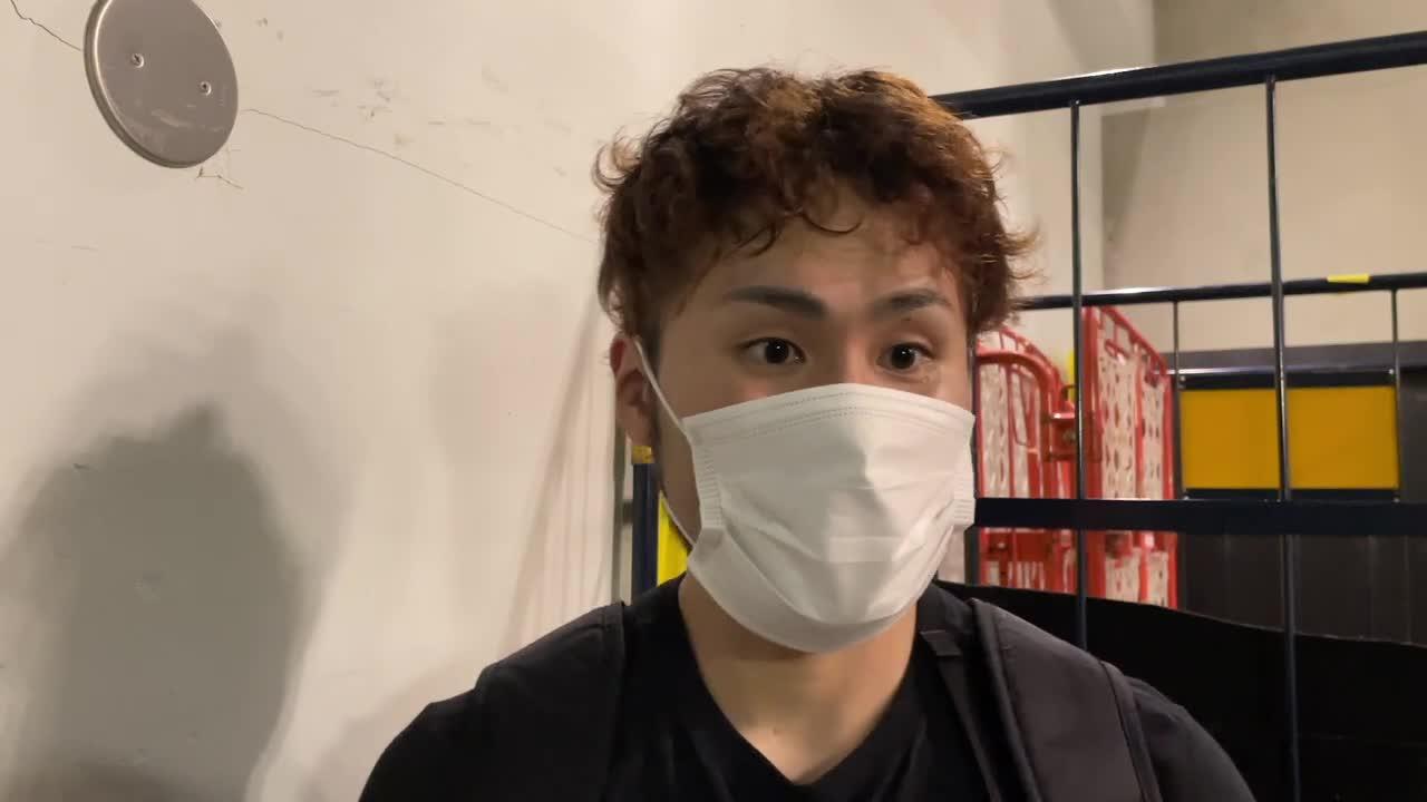 【宇都宮ブレックス】2021年10月23日(土) SR渋谷戦 #31 喜多川修平 試合後インタビュー