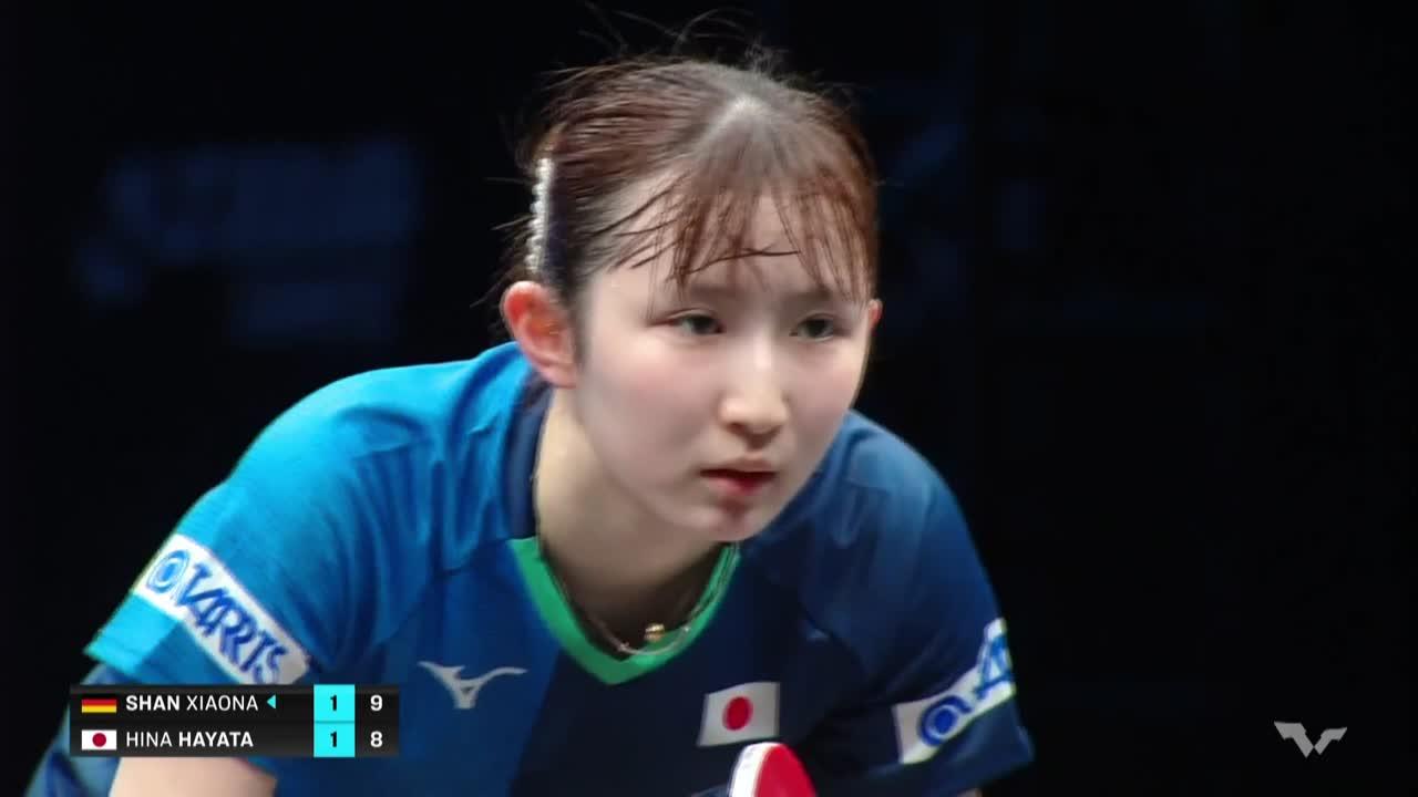 【ハイライト】早田ひな vs シャン・シャオナ|WTT コンテンダー ドーハ 男子シングルス準々決勝
