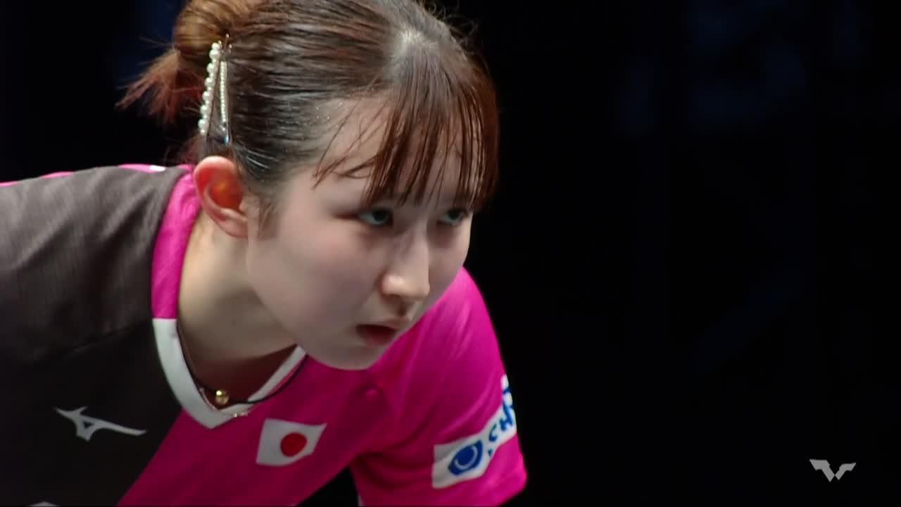 【ハイライト】早田ひな vs 木原美悠|WTT コンテンダー ドーハ 女子シングルス準決勝