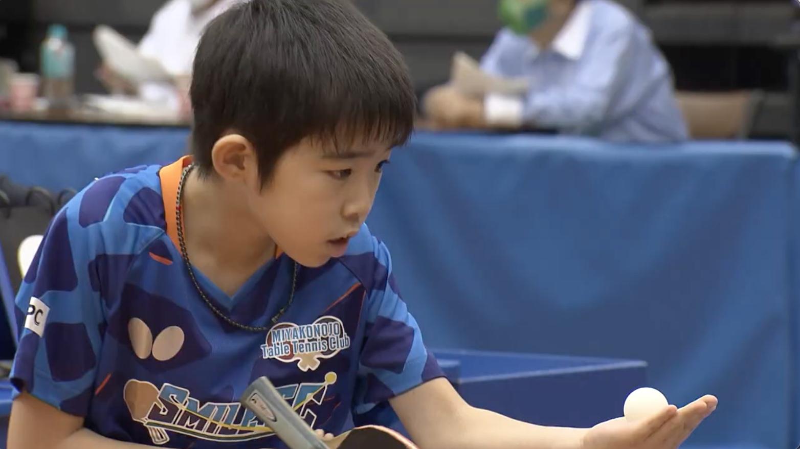 【全農杯2021】ホープス男子準々決勝|松島翔空 vs 郡司景斗