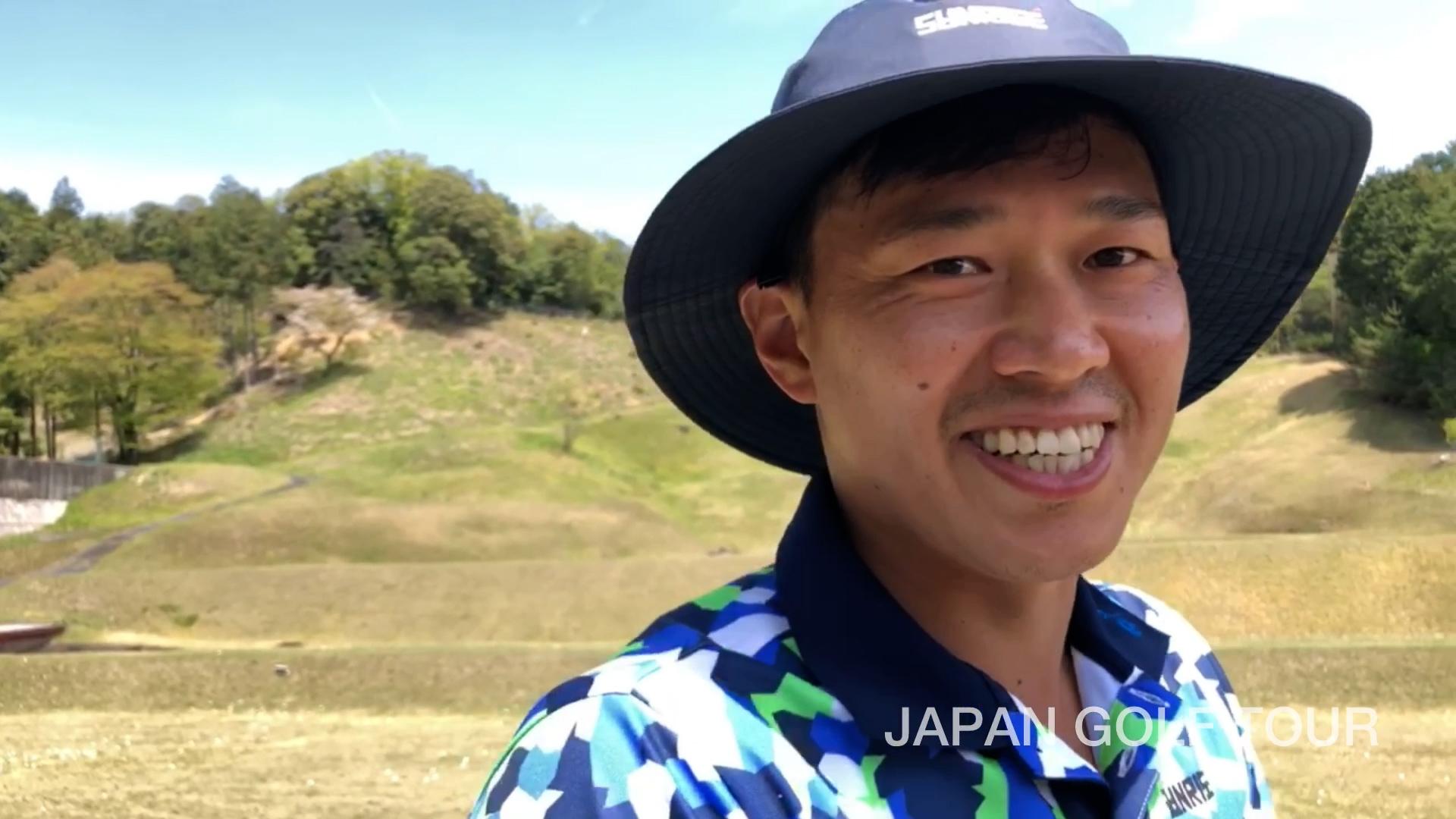 【男子ゴルフ】広報カメラによる練習場密着!JAPANゴルフツアー開幕戦 東建ホームメイトカップ(第28回) 1st Round