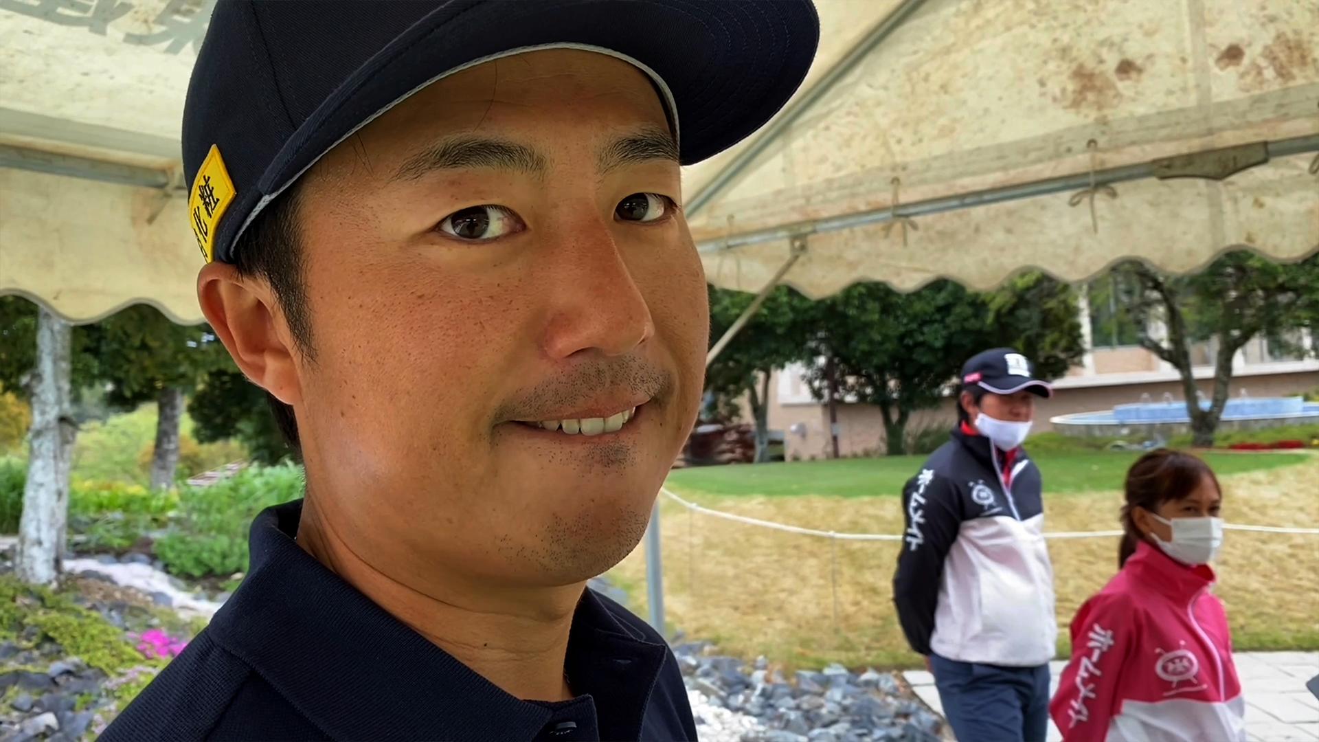 【男子ゴルフ】イケメンなのに『実は●●系?』な小鯛竜也が登場!「今日の◯◯さん」in JAPANゴルフツアー開幕戦 東建ホームメイトカップ(第28回)