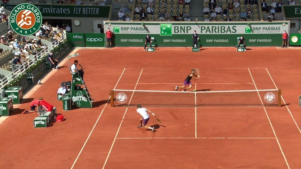 【マッチハイライト】アレクサンダー・ズベレフ vs ステファノス・チチパス/全仏オープンテニス2021 準決勝