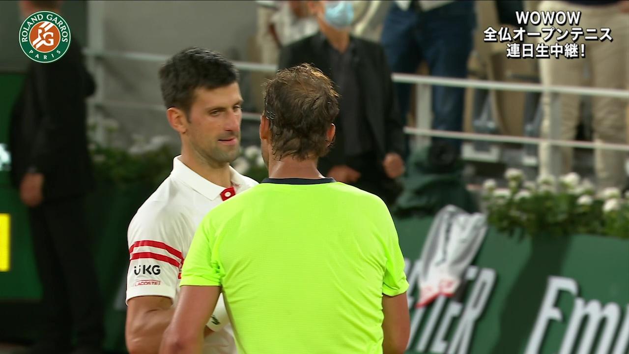 【マッチハイライト】ノバク・ジョコビッチ vs ラファエル・ナダル/全仏オープンテニス2021 準決勝