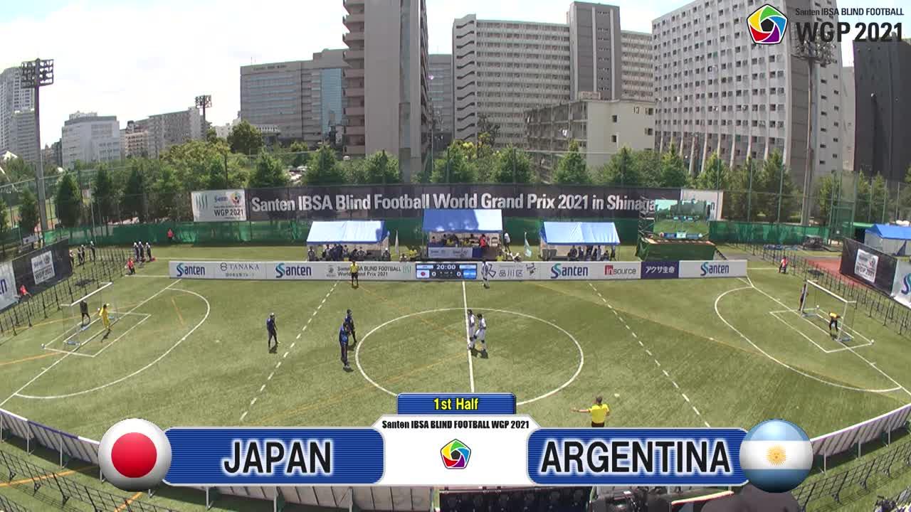 【ハイライト】M8 日本vsアルゼンチン <Santen ブラサカグランプリ 2021>