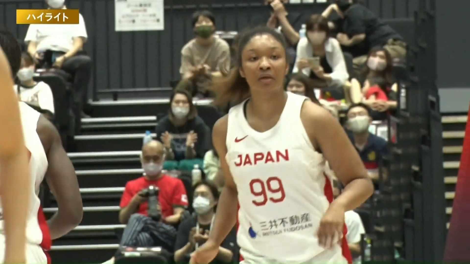 【ハイライト】【バスケ女子国際強化試合2021】日本 vs ポルトガル 第2戦(2021.6.12)