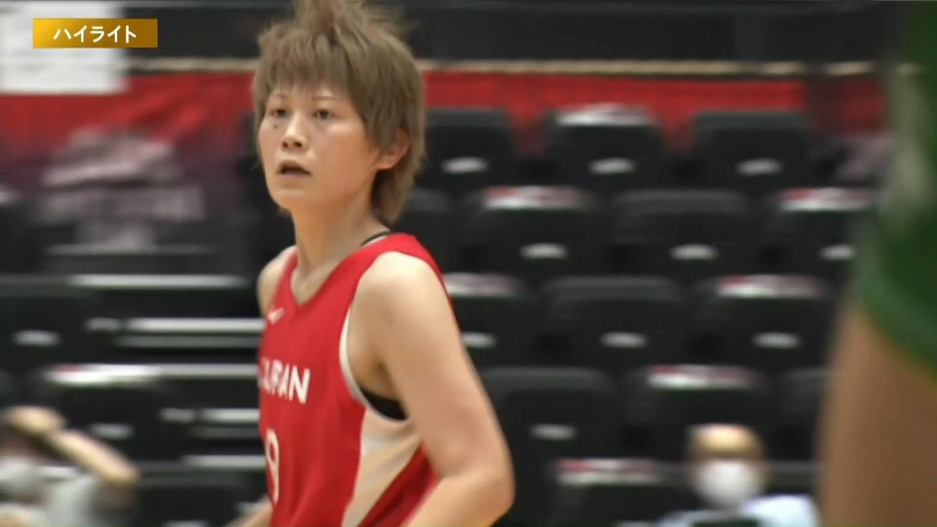 【ハイライト】【バスケ女子国際強化試合2021】日本 vs ポルトガル 第3戦(2021.6.13)