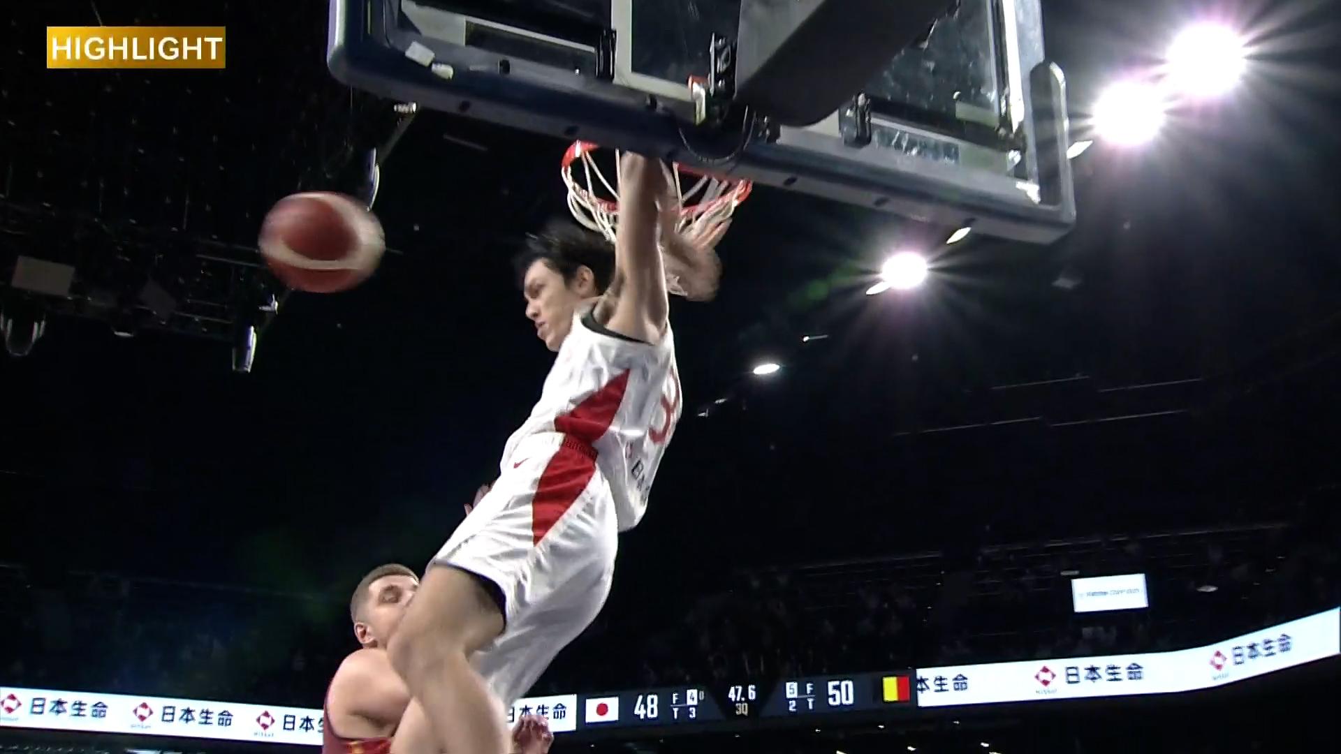 【ハイライト】【バスケ男子国際強化試合2021】日本 vs ベルギー(2021.7.9)
